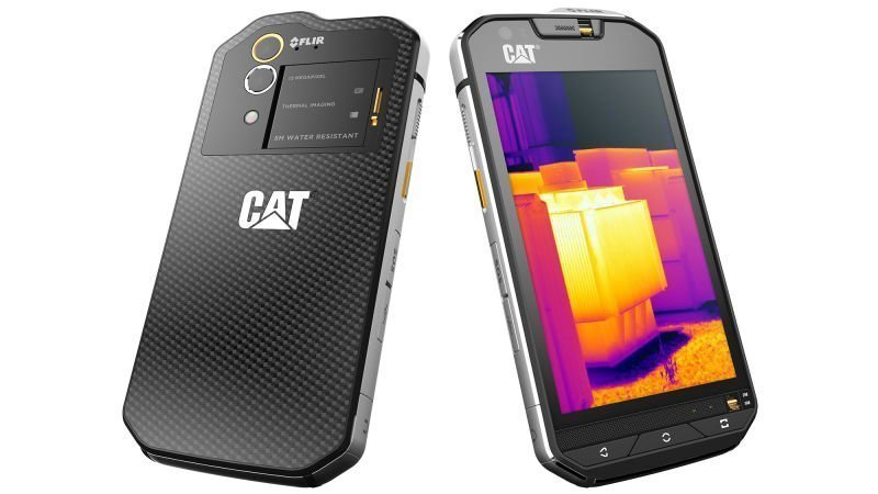 First Smartphone With Built In Thermal Imagery