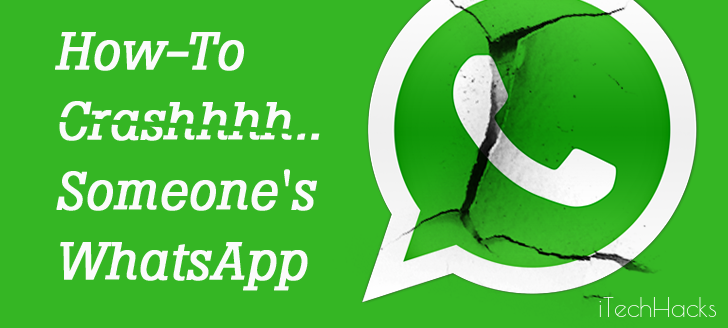 Crash Your Friends WhatsApp With A Special Secret Message 2016