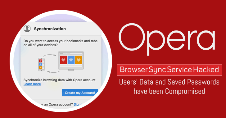 Opera Browser Users Data And Saved Passwords Compromised
