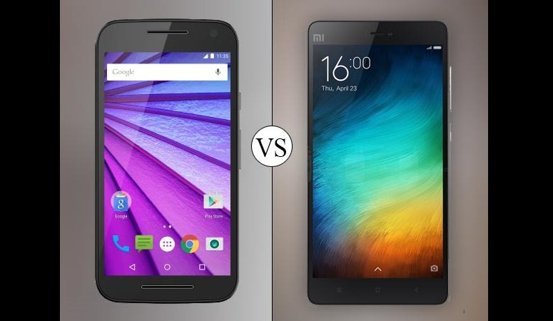 Review And War Xiaomi Mi4i V/s Moto G3