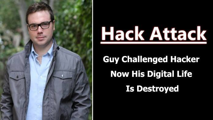 A Guy Challenged Two Hackers And Now His Digital Life Is Destroyed