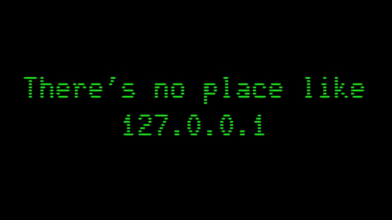 Why Is Localhost's IP Address 127.0.0.1? What Does It Means?