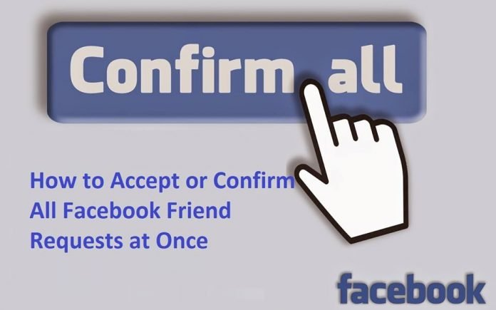 Accept All Pending Friends Request On Facebook At Once