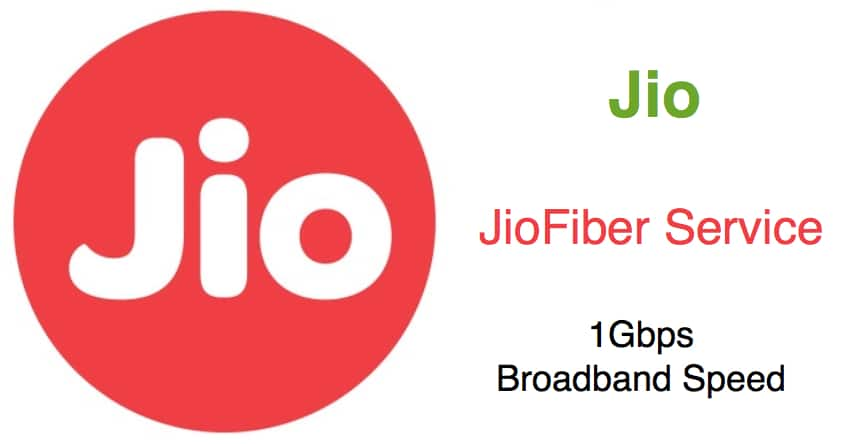 Broadband Services To Be Launched By Reliance Jio