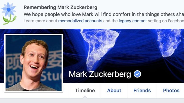 Mark Zuckerberg And Another Two Million Users Declared Dead by Facebook