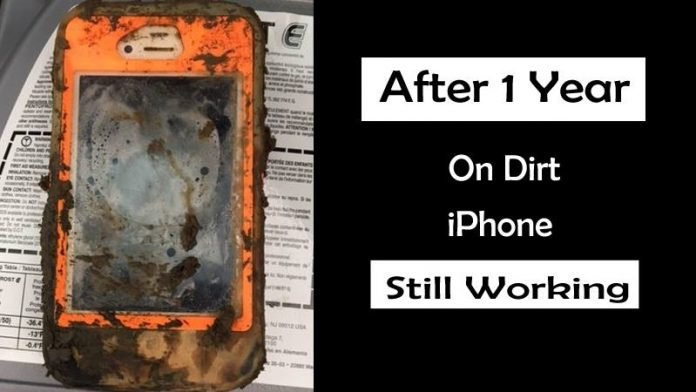 This iPhone Still Working After a Year On The Bottom Of An Icy Lake