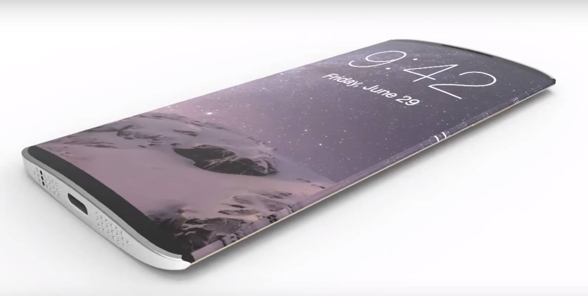 iPhone 8 With Curved OLED Screen Could Come In 2017