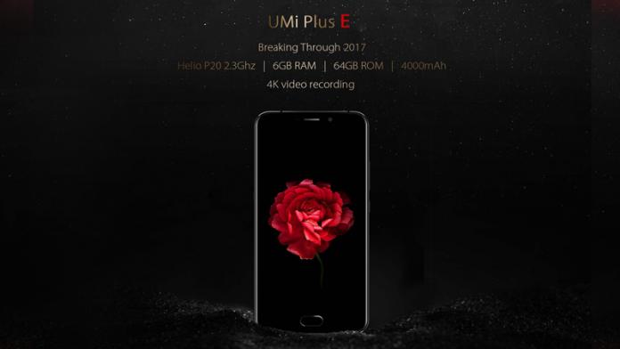 UMI, Plus E, 4G, Fingerprint Scanner, 13MP, Camera, Type-C, UMI Plus E 4G,
