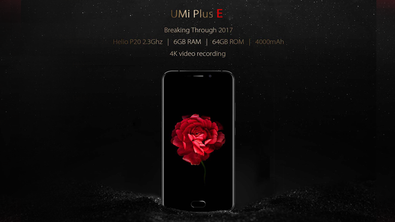 UMI, Plus E, 4G, Fingerprint Scanner, 13MP, Camera, Type-C, UMI Plus E 4G,