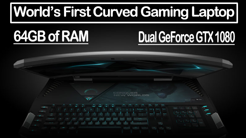Acer Predator 21 X Is The World's First Curved Gaming Laptop