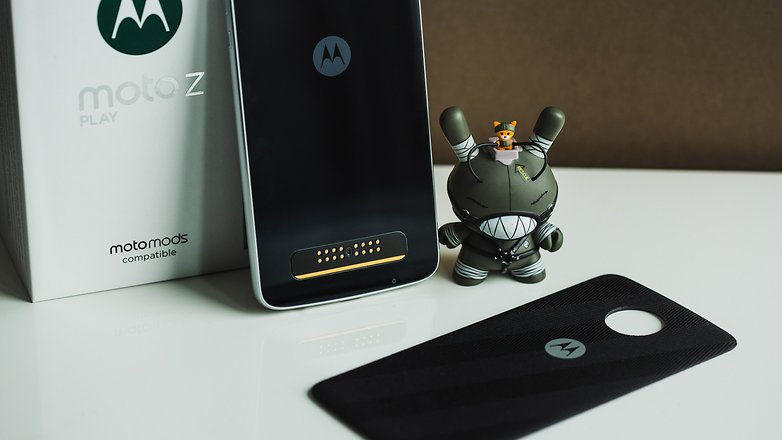 Moto Z Play 3GB RAM, 4G Smartphone With Fingerprint Sensor
