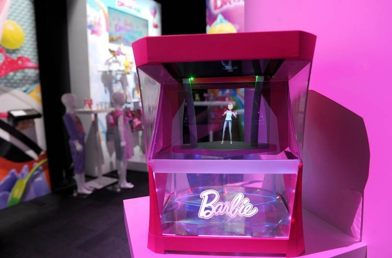 Barbie Hologram is Here, Barbie Girl is Now Untouchable