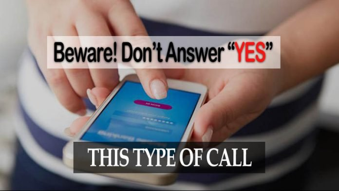 phone answer yes call