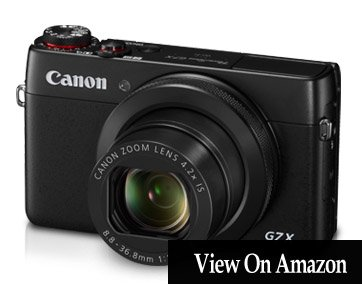 Canon Powershot G7 X -10 Best Point And Shoot Digital Cameras 2018