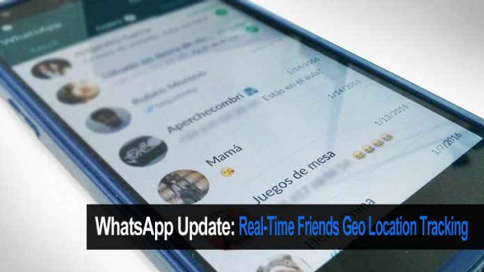 Now WhatsApp Will Allow You To Track Your Friends Real-Time Location