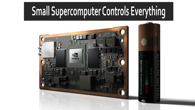 Credit Card Sized Supercomputer From NVIDIA Jetson TX2 Powers Robots And Drones AI