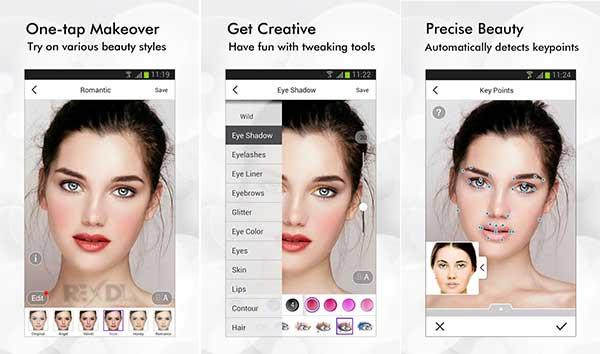 Приложение сделать макияж на