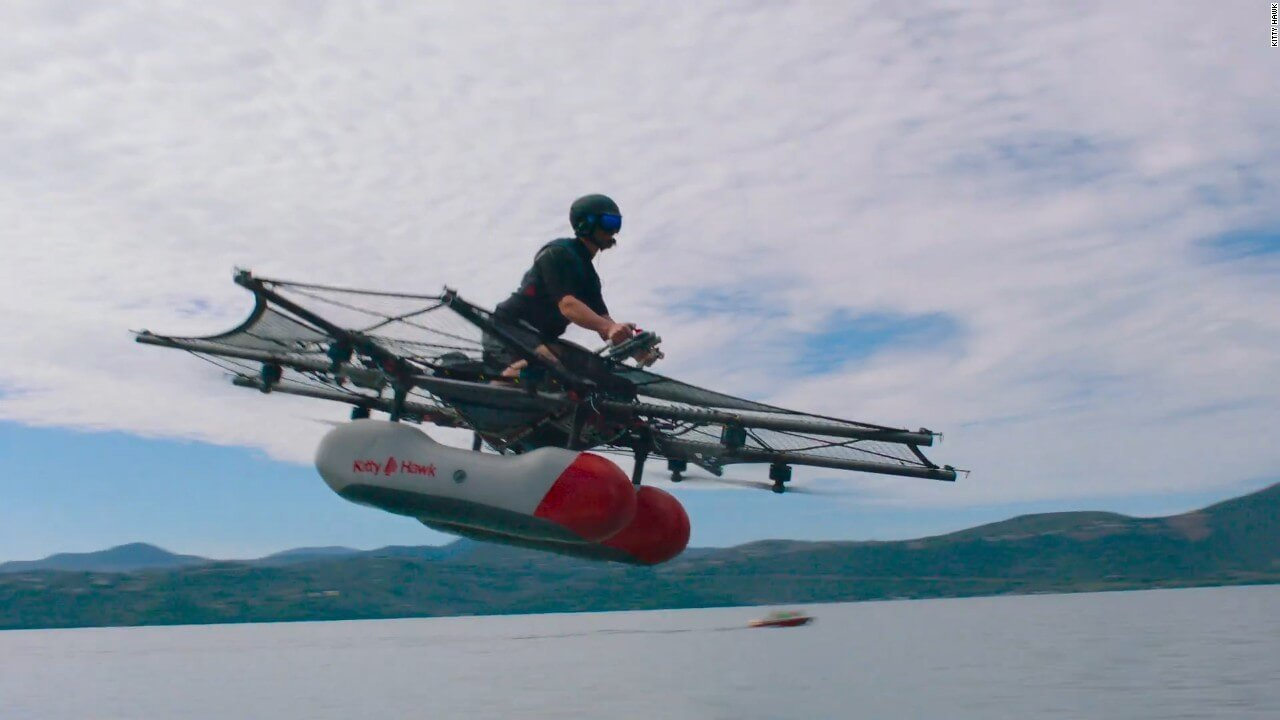 Larry Page's Future Flying Car On Sale Sooner