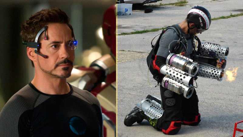 Richard Browning Created An Iron Man Suit Which Can Fly