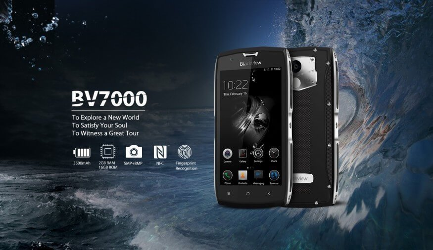 Blackview BV7000 Images, Specifications And Features