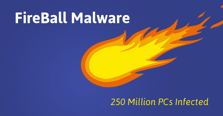 The Chinese Malware 'Fireball' Affected 250 Million Computers Worldwide
