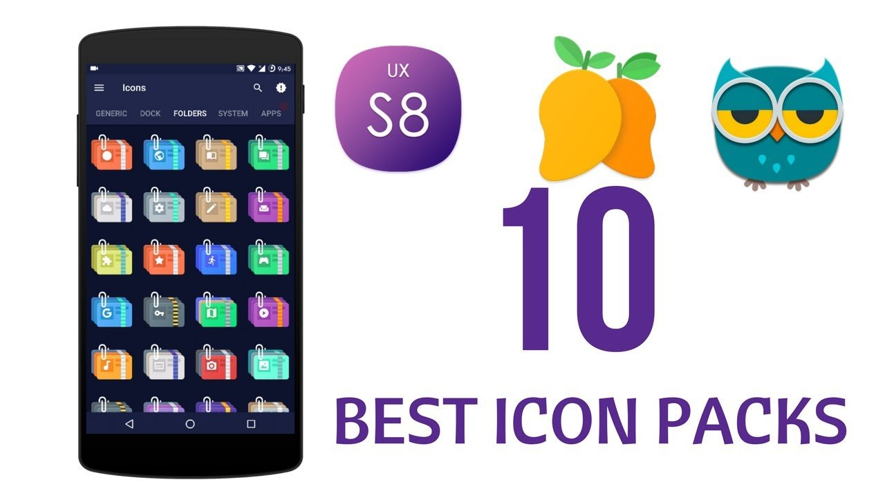 10 Android Icon Packs To Transform the Look of Your Smartphone