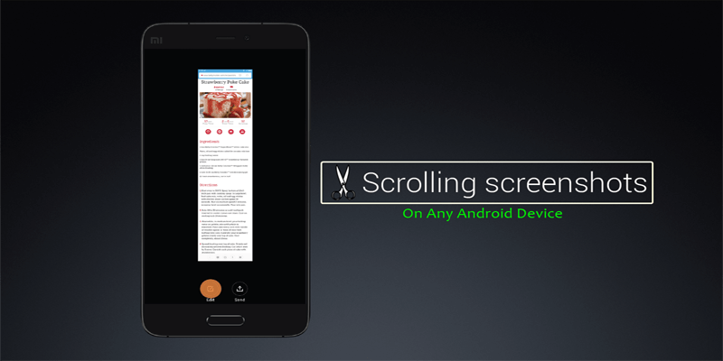 How To Take Scrolling Long Screenshots on any Android Device
