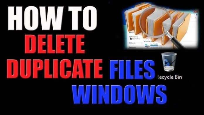 Method to Detect and Delete Duplicate Files on Windows