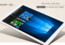 Windows 10 Android Chuwi Hi12 12.0Inch Tablet PC 4GB RAM