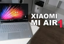 Xiaomi Air 13 Notebook Fingerprint Sensor With Windows 10