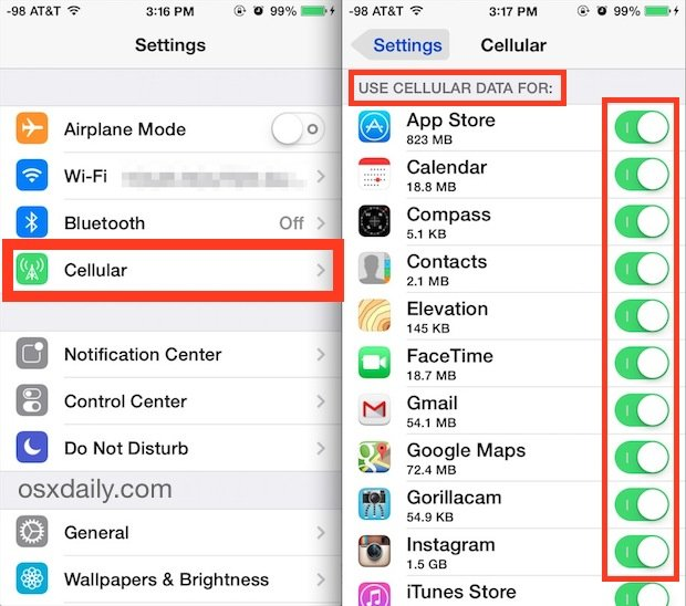 10 Tips And Tricks On How To Save Mobile Data On iPhone or iPad