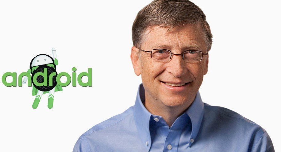 Bill Gates uses Android Phone Instead Of Microsoft Phone