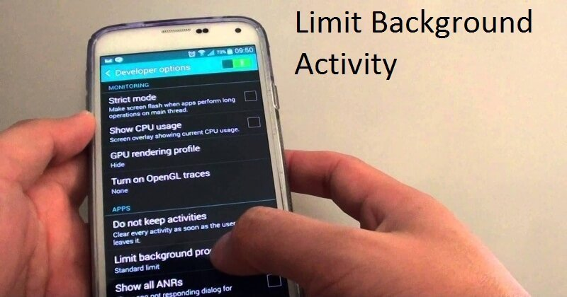 How To Limit Background Activity in Android O To Protect Battery Life (1)