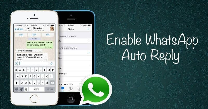 How To Auto Reply On WhatsApp For iPhone Users