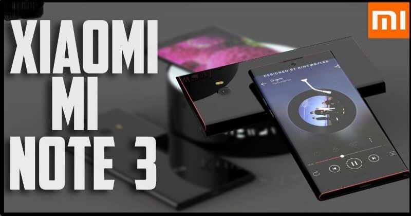 Latest Xiaomi Mi Note 3 4G Phablet With 64GB ROM