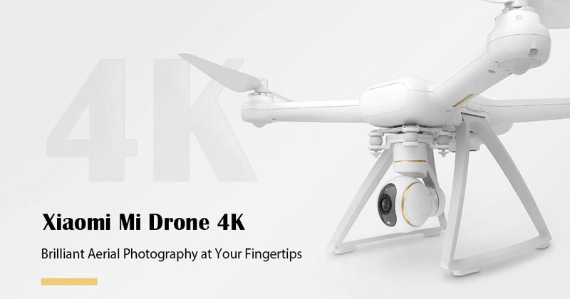 Xiaomi Mi Drone RC 4K WiFi FPV Quadcopter