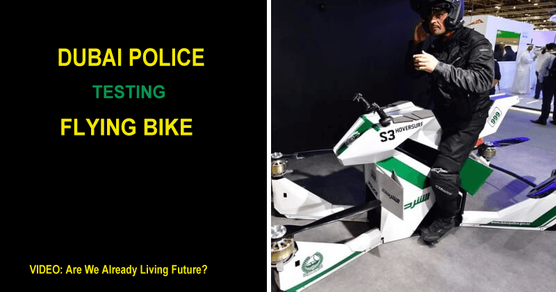 Dubai Police Is Testing Flying Multirotor Hoverbikes