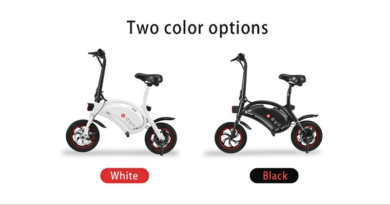 F-wheel DYU A Great Folding Electric Bike With Amazing Design