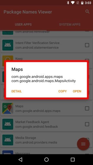 intent filter verification service android