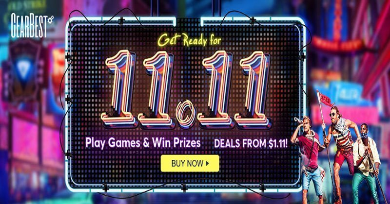 Gearbest Double Sale 11 11 Online Shopping Sale Is Coming Soon