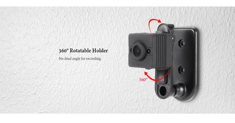 The Brand New Quelima SQ12 Mini Camera 1080P FHD DVR