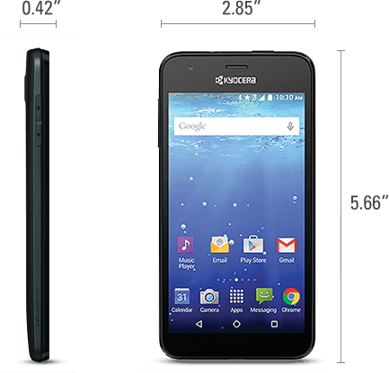 The Waterproof Kyocera Hydro Wave Smartphone Review