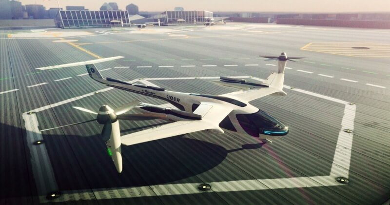 Uber Working On Flying Cars Which Could Come To LA By 2020
