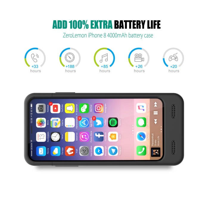 Zerolemon Battery Case For Smartphones With Warranty