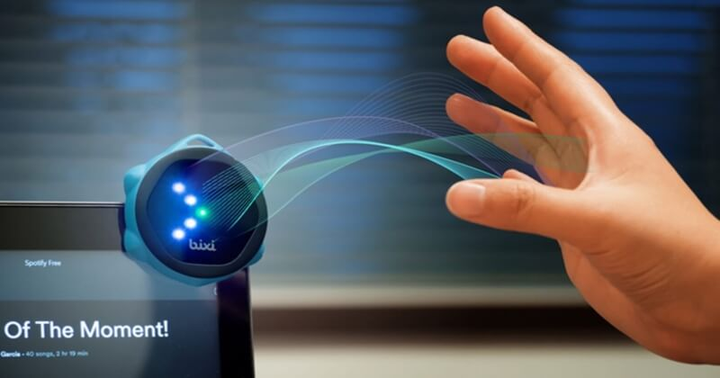 Bixi Touch-Free Gesture Controller For Your Smartphone Devices