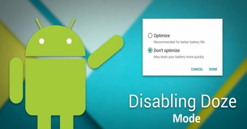 How to Disable Doze Mode for Apps On Android 6.0 Marshmallow