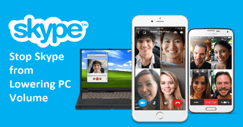 How to Stop Skype from Lowering Your Computer Volume
