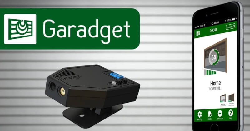 """Amazing Device """"Garadget"""" Which Controls Your Garage Door Remotely"""