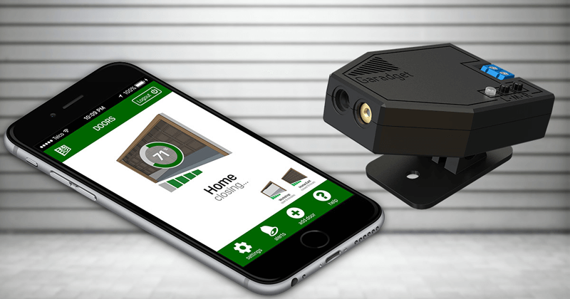 "Amazing Device ""Garadget"" Which Controls Your Garage Door Remotely"