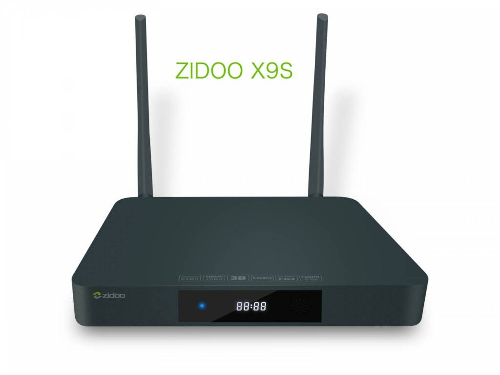 Zidoo X9S TV Box Feature 64-bit Realtek RTD1295 Processor